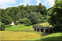 ST7733 : Palladian Bridge, Stourhead by Derek Harper