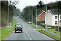 SO0865 : A483 at Fron by David Dixon