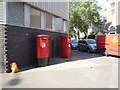 TQ2983 : Elizabeth II postboxes on Barnby Street. London NW1 by JThomas