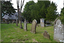 TR2647 : Graves, Church of St Andrew by N Chadwick