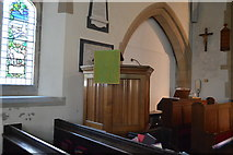 TR2647 : Church of St Andrew - pulpit by N Chadwick