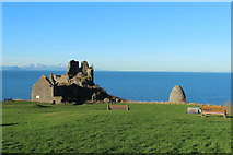 NS2515 : Castle and Doocot, Dunure by Billy McCrorie