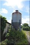 TQ4944 : Silo, Hoath Hill Farm by N Chadwick