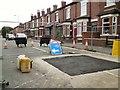 SJ9594 : Dowson Road still closed by Gerald England