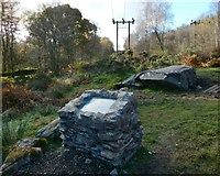NS2984 : Cup-marked stone with new interpretation panel by Lairich Rig
