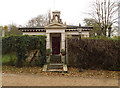 TQ3575 : West Lodge, Nunhead Cemetery by Julian Osley