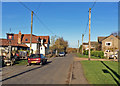 TL6855 : Kirtling Green: The Street by John Sutton