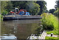 SO8798 : Dredging next to Wightwick Lock No 29 by Mat Fascione
