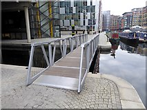 TQ2681 : The Rolling Bridge, Paddington Basin by Oliver Dixon