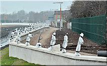 J3674 : Connswater works, Belfast - November 2016(1) by Albert Bridge
