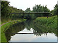SO8595 : Pipe bridge across the Staffordshire and Worcestershire Canal by Mat Fascione
