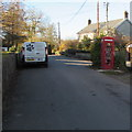 ST1573 : Village phonebox and bookstore, Michaelston-le-Pit by Jaggery