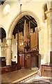 TL3163 : Holy Trinity, Elsworth - Organ by John Salmon