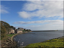 NU0052 : The mouth of the Tweed. by steven ruffles