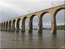 NT9953 : The Royal border bridge. by steven ruffles
