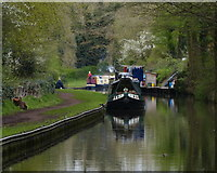 SO8688 : Staffordshire and Worcestershire Canal at Greensforge by Mat Fascione