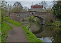 SO8689 : Hinksford Bridge No 38 by Mat Fascione