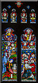 TL1998 : North transept window,Peterborough Cathedral by Julian P Guffogg