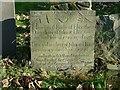 SK7222 : Belvoir Angel headstone, Ab Kettleby Churchyard by Alan Murray-Rust