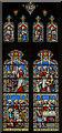 TL1998 : North presbytery aisle window, Peterborough Cathedral by Julian P Guffogg
