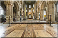 TL1998 : Sanctuary, Peterborough Cathedral by J.Hannan-Briggs