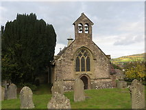 SO2813 : The Church of St Faith at Llanfoist by Peter Wood