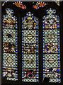 TL1998 : Apse window, Peterborough Cathedral by Julian P Guffogg