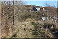 SO2309 : Overgrown track, Garn Lakes LNR, Garn-yr-erw by M J Roscoe