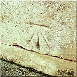 TM0458 : Cut Mark Stowmarket the Church of St Peter and St Mary by Cud05