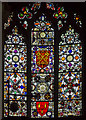 TL1998 : Apse stained glass window, Peterborough Cathedral by J.Hannan-Briggs