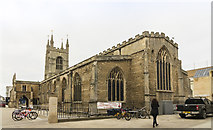 TL1998 : St John the Baptist church, Peterborough by J.Hannan-Briggs