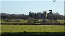 SO8845 : View to Croome D'Abitot church by Philip Halling