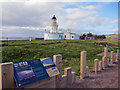 NH7455 : Chanonry Point  and Lighthouse by Richard Dorrell