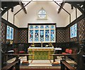 SJ9295 : Altar and East Window by Gerald England