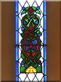 NY5674 : St Cuthbert's Church, Bewcastle (detail) by Andrew Curtis