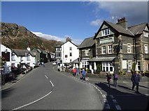 SD3097 : The Black Bull and Yewdale inns, Coniston by David Smith