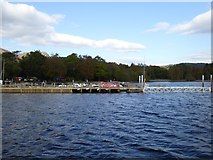 SD3097 : Jetty at Coniston Boating Centre by David Smith
