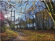 TA0225 : Humber Bridge, Hessle, Yorkshire by Bernard Sharp