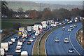 ST0209 : Mid Devon : The M5 Motorway by Lewis Clarke