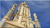 SS9512 : Tiverton : Lowman Green Clock Tower by Lewis Clarke