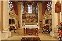 TQ1068 : St Mary, Sunbury-on-Thames - Sanctuary by John Salmon