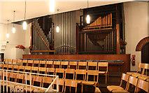 TQ1068 : St Mary, Sunbury-on-Thames - Organ by John Salmon