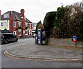 SO9669 : BT phonebox on a Bromsgrove corner by Jaggery