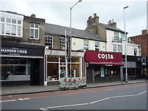 TL4557 : Shops on Hills Road, Cambridge by JThomas