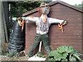TQ2882 : Scarecrow in Regent's Park by Peter S