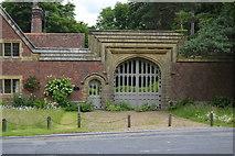 TQ5346 : Gateway to Hall Place by N Chadwick