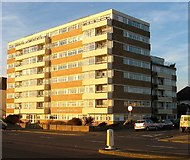TQ2704 : Berriedale House, Kingsway, Aldrington, Hove by Simon Carey