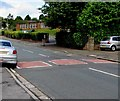 ST3487 : Aberthaw Road speed bumps, Alway, Newport by Jaggery