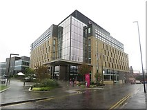 NZ2463 : New hotel in the Stephenson Quarter, Newcastle upon Tyne by Graham Robson