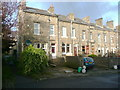 SE0823 : Houses in a street off Manor Drive, Skircoat, Halifax by Humphrey Bolton